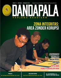 Volume I/Edisi 11 Januari 2016